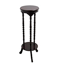 Ore International™ Walnut Indoor Plant Stand