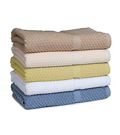MaryJane's Home Honeycomb Check Bath Towel Collection