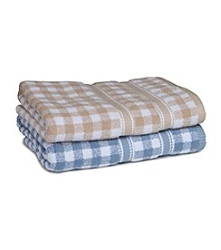 MaryJane's Home Gingham Check Bath Towel Collection