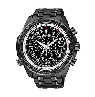 Citizen® Men's Eco-Drive Silvertone Watch