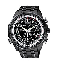 Citizen® Men's Eco-Drive Silvertone Watch