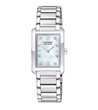 Citizen® Women's Eco-Drive Palidoro Stainless Steel Watch