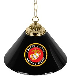 "United States Marine Corps 14""  Single Shade Bar Lamp"