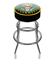 U.S. Army Symbol Padded Swivel Bar Stool