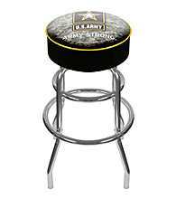 U.S. Army Digital Camo Padded Swivel Bar Stool