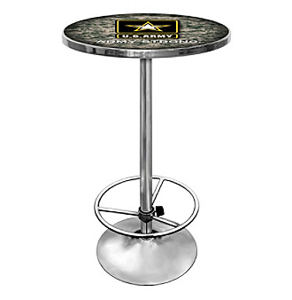 U.S. Army Chrome Pub Table