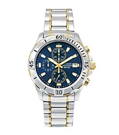 Citizen® Men's Two-Tone Stainless Steel Chronograph Watch