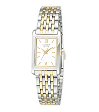 Citizen® Women's Two-Tone Stainless Steel Watch with White Dial