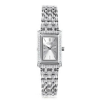 Citizen® Women's Stainless Steel Watch with Silver-Tone
