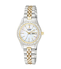 Citizen® Women's Two-Tone Stainless Steel Watch