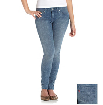 Levi's® Juniors' Floral Fade 535 Jean Leggings