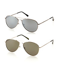 Paradise Collection® Men's Aviator Spring Hinged Sunglasses