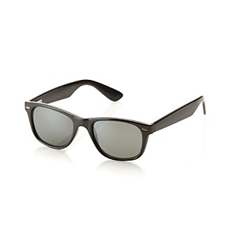 Paradise Collection® Men's Black Retro Sunglasses