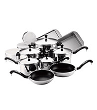 Farberware® Classic Series Stainless Steel 17-pc. Cookware Set