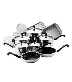 Farberware® Classic Series 17-pc. Stainless Steel Cookware Set