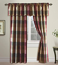 Plaid Window Treatments by United Curtain Co.