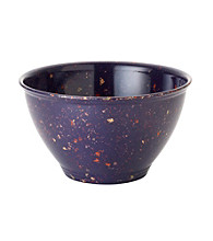 Rachael Ray® Melamine Purple Garbage Bowl with Rubber Foot