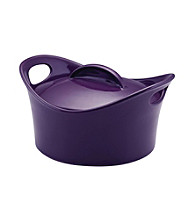 Rachael Ray® Purple Stoneware 2.75-qt. Covered Round Casserole