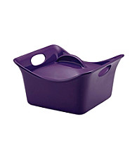 Rachael Ray® Stoneware Purple 3.5-qt. Covered Square Casserole