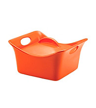 Rachael Ray® Stoneware Orange 3.5-qt. Covered Square Casserole