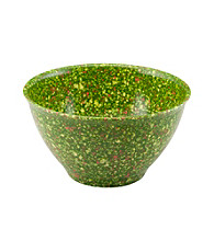 Rachael Ray® Melamine Green Garbage Bowl with Rubber Foot