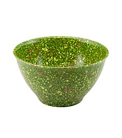 Rachael Ray® Green Melamine Garbage Bowl with Rubber Foot