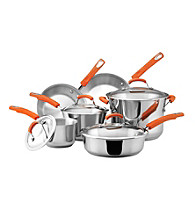 Rachael Ray® Stainless Steel II 10-pc. Cookware Set