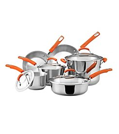 Rachael Ray® 10-pc. Stainless Steel II Cookware Set