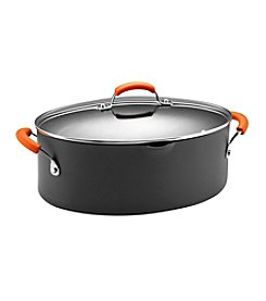 Rachael Ray® 8-qt. Hard Anodized II Covered Oval Pasta Pot