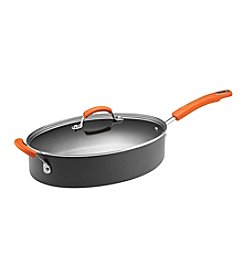 Rachael Ray® 5-qt. Hard Anodized II Covered Oval Saute Pan