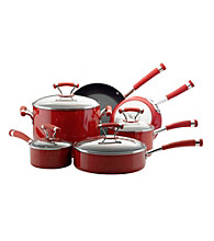Circulon® Contempo 10-pc. Red Cookware Set