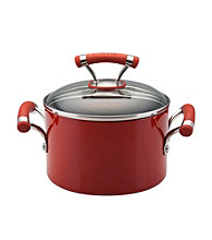 Circulon® Contempo™ 3-qt. Red Covered Saucepot