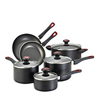 Farberware® High Performance Nonstick 10-pc. Black Cookware Set