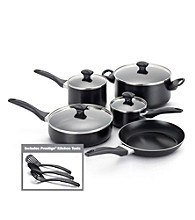 Farberware® Dishwasher Safe Nonstick Black 12-pc. Cookware Set
