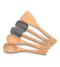 Anolon® Tools 5-pc. Beechwood Kitchen Tool Set