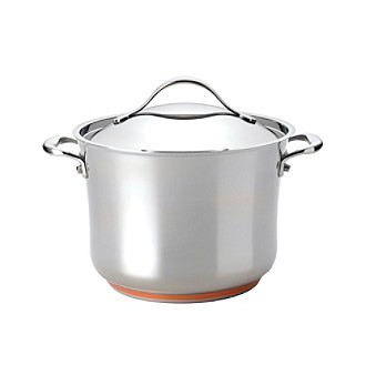 Anolon® Nouvelle Stainless Steel 8-qt. Covered Stockpot
