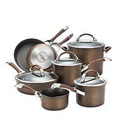 Circulon® Symmetry 11-pc. Chocolate Hard-Anodized Nonstick Cookware Set + FREE Gift see offer details
