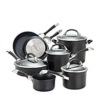 Circulon® Symmetry 11-pc. Black Cookware Set