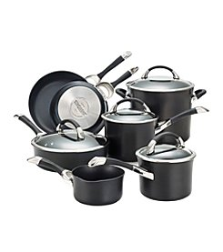 Circulon® Symmetry 11-pc. Black Cookware Set + FREE BONUS GIFT see offer details