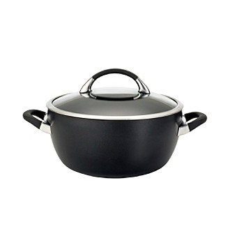 Circulon® Symmetry 5.5-qt. Black Covered Casserole