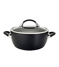Circulon® Symmetry Black 5.5-qt. Covered Casserole