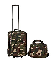 Rockland 2-pc. Camo Luggage Set