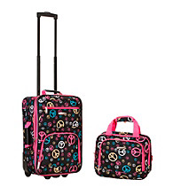 Rockland 2-pc. Peace Luggage Set