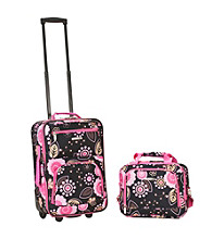 Rockland 2-pc. Pucci Luggage Set