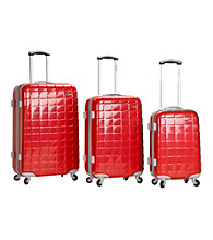 Rockland 3-pc. Celebrity Polycarbonate/ABS Luggage Set