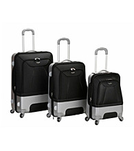 Rockland 3-pc. Hybrid EVA/ABS Luggage Set