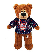 MLB® New York Yankees Plush Bear Splatter Pattern