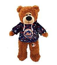MLB® New York Mets Plush Bear Splatter Pattern