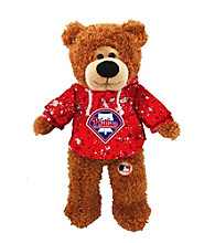 MLB® Philadelphia Phillies Plush Bear Splatter Pattern