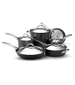Anolon® Nouvelle Copper 11-pc. Grey Hard-Anodized Nonstick Cookware Set+ FREE Bonus Gift! see offer details